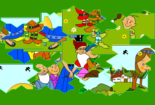Puzzle Medio: Blancanieves | Recurso educativo 33704