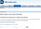 Website: ESL video quiz builder | Recurso educativo 35288