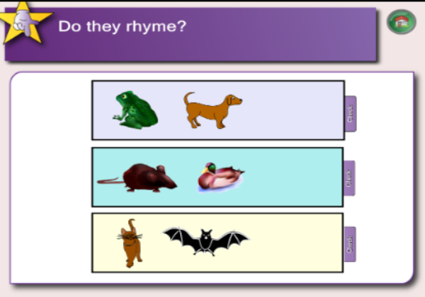 Do they rhyme? | Recurso educativo 45347
