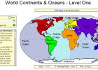 Game: World continents and oceans | Recurso educativo 49679