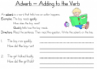 Adverbs (worksheets) | Recurso educativo 23045