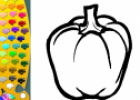 ¡A Colorear!: Pimiento | Recurso educativo 28578