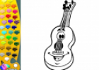 ¡A Colorear!: Guitarra española | Recurso educativo 29260