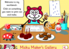 Games: Micky Maker's Gallery | Recurso educativo 7008