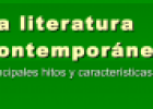 La literatura contemporánea | Recurso educativo 73267