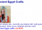 Ancient Egypt for kids | Recurso educativo 76026
