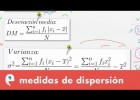 Estadística: medidas de dispersión | Recurso educativo 109504