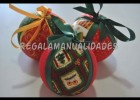 Como hacer bolas de Navidad (How to do Christmas balls) | Recurso educativo 112785