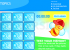Body Memory Game for ESL Kids | Recurso educativo 673631