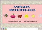 Animales invertebrados (JClic) | Recurso educativo 677401