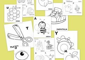 Fichas De Abecedario Para Aprender Y Colorear Recurso Educativo