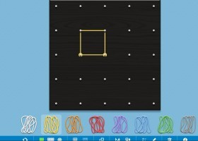 Geoboard: geoplà virtual | Recurso educativo 737910