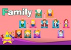 Kids vocabulary - Family - family members & tree - Learn English educational | Recurso educativo 763798