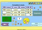 Compta euros i cèntims | Recurso educativo 770438