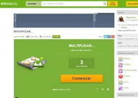 Multiplicar | Recurso educativo 772105